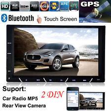 """7"""" HD 2 DIN salpicadero Bluetooth Radio De Coche Android USB Radio FM MP3 MP4"""