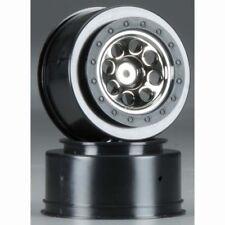 HPI Blitz 2wd SC 106191 MK.8 V2 Wheel Black Chrome 4.5mm Offset (2)