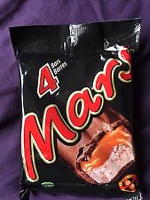 4 FOUR Mars UK Canada Chocolate Candy Bars 52g FULL SIZE USA SELLER NEW