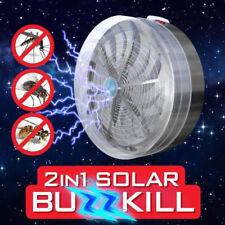 Elektrische UV Insektenvernichter Solarbetrieben Buzz Insektenfalle MoskitoLampe