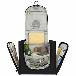 Travel Toiletry Bag, Makeup Cosmetic Shaving Organizer Kit, for Men & Women
