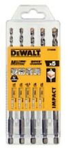 Dewalt 5pc Extreme Impact Masonry Drill Set