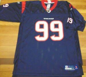 REEBOK NFL EQUIPMENT HOUSTON TEXANS J.J. WATT JERSEY SIZE XL