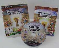 Ps3 PlayStation 3 - 5x juegos-fifa 08 + 09 + 10 + 13 FIFA Sudáfrica 2010+ OVP