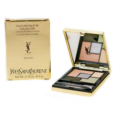 YSL Couture Eyeshadow Palette 5 Color Indie Jaspe Peach Yellow Silver Green