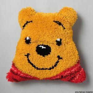 """Vervaco Formkissen Knüpfset """"Winnie the Pooh"""""""