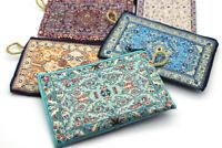 Turkish Element Fabric Coin Zip Various Pattern Handmade Wallet Makeup Coin Bag