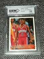 1996-97 Topps #171 ALLEN IVERSON Rookie RC Gem Elite Pristine 10! PSA/BGS? HOF📈