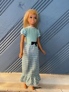 VINTAGE 1967 Mattel Skipper Barbie Sister Bend Legs Blonde Twist Turn Korea