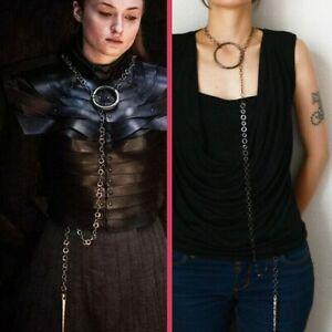 Sansa Stark Final Season Metal Lariat Necklace - Game of Thrones Cosplay Jewelry