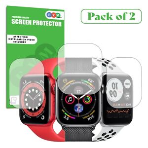 Screen Protector For Apple Watch Series 2 3 4 5 6 SE Clear Hydrogel Film