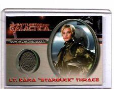 "Battlestar Galactica Premier  CC4 Lt.Kara ""Starbuck"" Thrace Costume card"