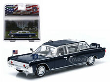 1961 LINCOLN CONTINENTAL SS-100-X JOHN F KENNEDY LIMO 1/43 BY GREENLIGHT 86110 A