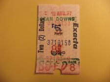 OCEAN DOWNS RACE TRACK VINTAGE 1977 WAGER TICKETS $2 EXACTA HORSE RACING BET