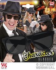 Character Glasses Black, Mafia, Gangster, Biker Women and Men