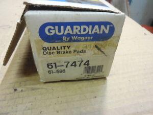 1995 - 1996 Eagle Summit (Exc. Wagon) Rear Organic Disc Brake Pads 61-596 BP-72