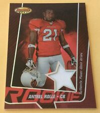 2005 Topps Bowmans Best Football Antrel Rolle Jersey Patch Card 180/199