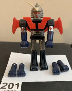 "WHATS HIS NAME????? SHOGUN WARRIORS VINTAGE MATTEL 5"" JAPAN METAL DIE-CAST ROBOT"