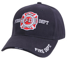 Fireman Fire Dept Department Low Profile Hat Baseball Cap Ballcap Rothco 9365
