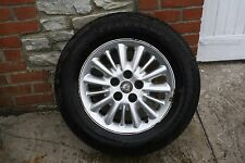 CHRYSLER VOYAGER ALLOY WHEEL WITH A GOOD TYRE
