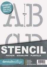"""Carta Stencils 40mm de alto 1.57/"""" Estilo Moderno letras mayúsculas reutilizable.."""