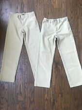Dickies Tan Khaki Uniform Pants 14H, Set Of 2
