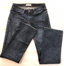 Habitual Womens Boot Cut Jeans Dark Wash Size 28