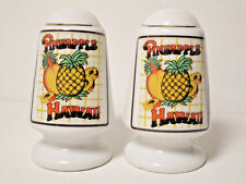 "State Souvenir ""Hawaii"" Pineapple Salt & Pepper Shaker Set"