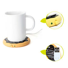 New USB Powered Cup Mug Warmer Coffee Tea Drink Heater Tray Pad for Coaster