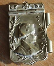 ancien carnet de bal a l effigie de napoléon  Bonaparte