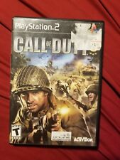 Call of Duty 3 - Playstation 2 Game Complete W/ TARGET MINI GUIDE