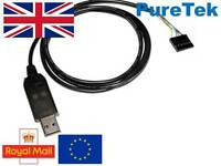 FTDI FT232RL USB to TTL Serial RS232 Cable 6 Pin ARM PIC Pi Arduino UK Seller
