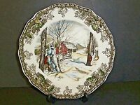 The Friendly Village Sugar Maples Bread & Butter Plate England Johnson Bros.