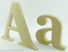 15 cm de pie y Pintado Mdf letras de madera, nombres, signos-Hand Made-Georgia