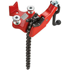 Vevor Bench Chain Pipe Vise 18 4 Top Screw Bench Vise 12 Bending Shoes