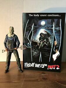 """Neca Friday The 13th Part 2 - Jason Voorhees Ultimate 7"""" Figure"""