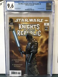Star Wars Knights Of The Old Republic 1-25 Plus Handbook #9 Cgc 9.6