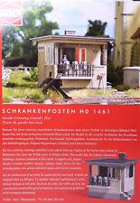 H0 BUSCH Schrankenposten ehem. Bahnhof Birnbaum - Ost i.h. Polen Miedzychòd 1461