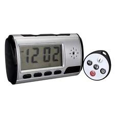 Digital Spy Camera Alarm Clock Hidden Video Camera Cam DVR Motion Detector @M