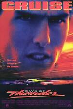 "Original DAYS OF THUNDER Rolled Movie Theatre Poster Tom Cruise 27"" x 40"""