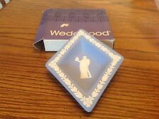 Wedgwood Sweet Diamond Dish Jasper Pale Blue, England 1975, new
