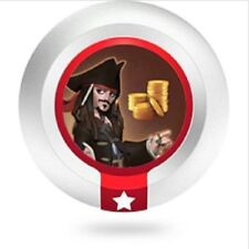 Disney Infinity 1.0 Series 1 Jack Sparrow Pieces of Eight Power Disc 5 Days