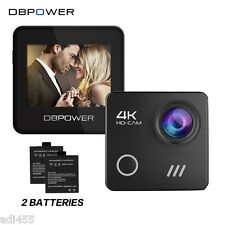 DBPOWER 4K action Camera Wifi  Waterproof 16mp