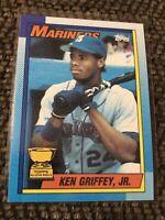 Topps 1990 All Star Rookie Bloody Arm Err Ken Griffey Jr. Seattle Mariners #336