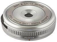 FUJIFILM filter lens Silver XM-FL S Silver X-mount Free Shipping w/Tracking# New
