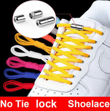 No Tie Elastic Locked Lock Shoelaces Shoe Laces Lazy Laces Sneakers Kids Adults