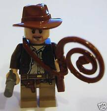 LEGO LOT OF 8 REDDISH BROWN INDIANA JONES WHIPS WEAPONS PIECES