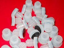 TASTING CORKS 25 ALL PLASTIC BAR T-TOP MUSHROOMS for WINE BOTTLES SYNTHETIC #9