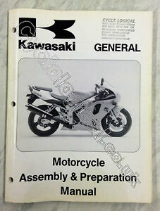 Kawasaki General Genuine Assembly and Preparation Manual P/N 99931-1311-01