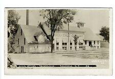 Rockdale Ny Company Main Office 1909 Doane Cancel Rppc Real Photo Postcard